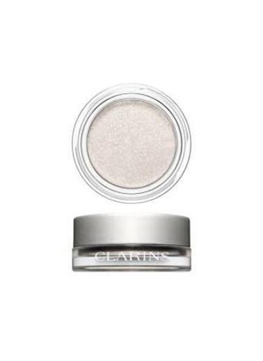 Clarins Clarins Göz Farı - Ombre Iridescente Eyeshadow 08 Silver White Gri